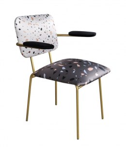 Terrazzo Chair with armrests
