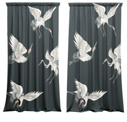 A set of curtains Japan style