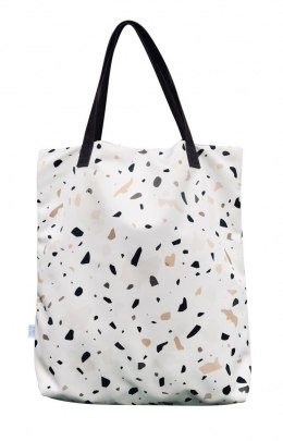 Bag Mr. m Terrazzo creamy/ears natural leather