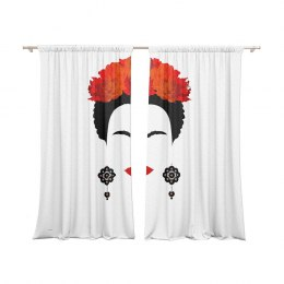 A set of curtains Frida