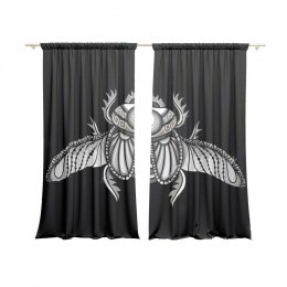 A set of curtains Scarab
