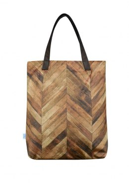 Bag Mr.m herringbone/ ears natural skin